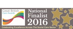 British Care Awards National Finalist 2016 2