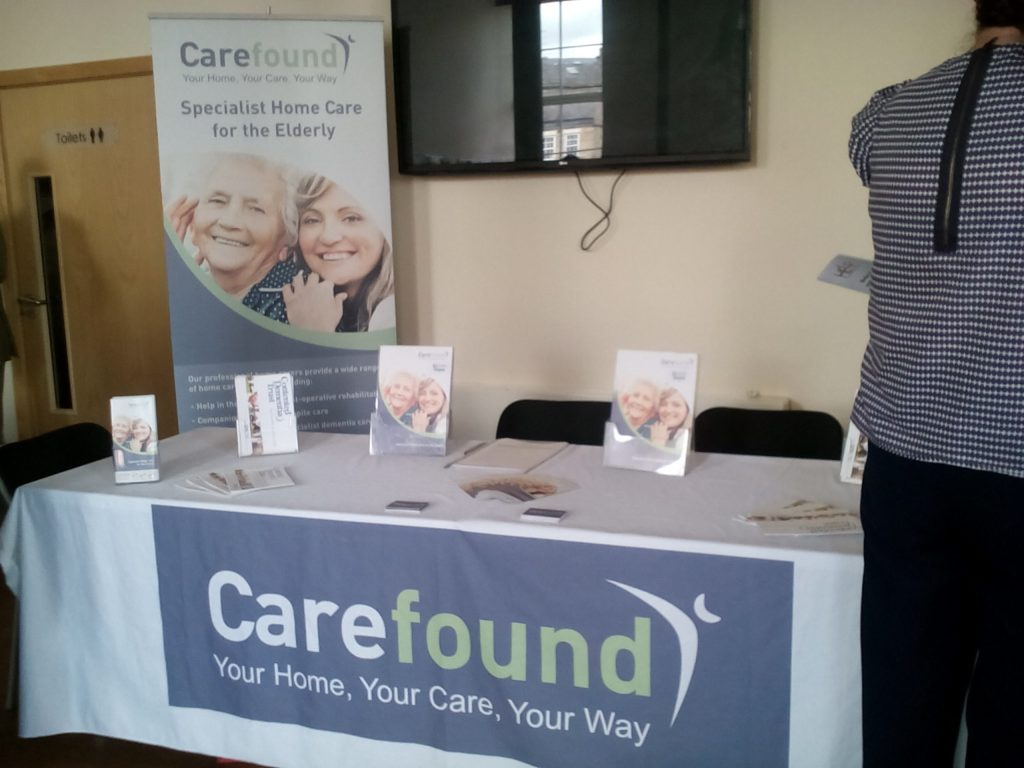 Home Care Stand Dementia Event