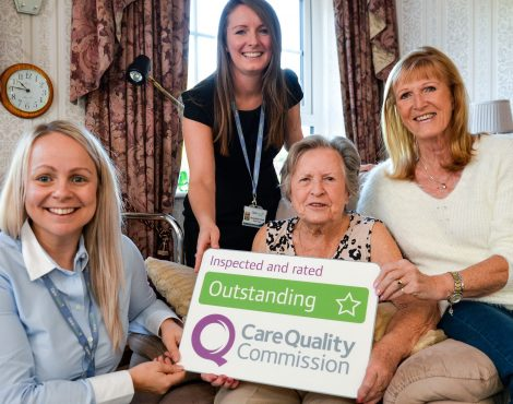 CQC Outstanding Cheshire