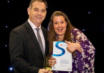 National Apprenticeship Week Award Winner