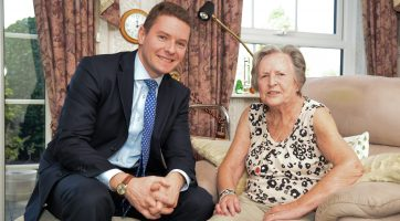 Oliver Stirk, Managing Director of Carefound Home Care