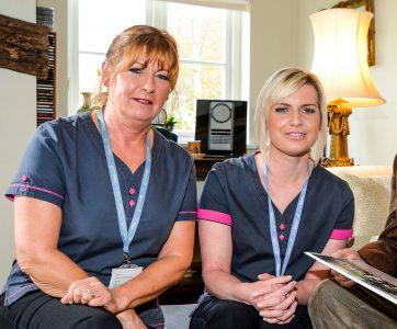 Carers providing companionship
