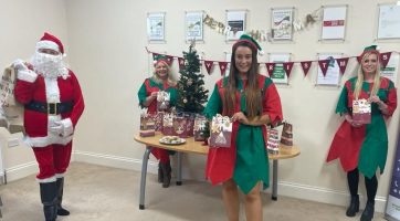Christmas celebrations from Carefound Home Care in Harrogate