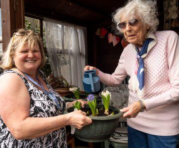 Carer Activity Elderly Client