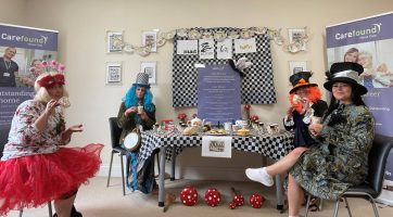 A Mad Hatter's Tea Party in Harrogate, Yorkshire